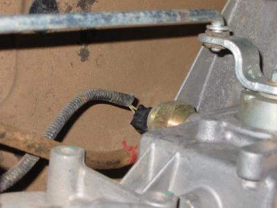 transfer case position sensor
